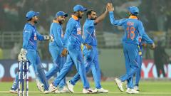 INDvWI Kuldeep Yadav and Rohit Sharma help India level series