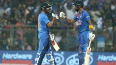 Rohit Sharma K L Rahul and Virat Kohli made fifties to take India past 240 in 3rd T20 against West Indies