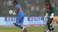 Shikhar Dhawan and Washington Sundar Lead India To 148