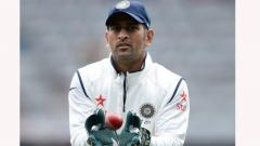 MS Dhoni might be present at 3rd test against South Africa in Ranchi