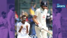 indvseng, Axar Patel, First Test Wicket, Root,Ashwin