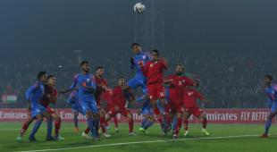 Doungel rescues a point for India and draw match with Afghanistan