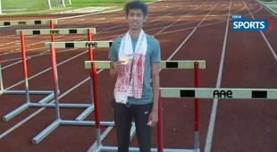 national junior athletics tournament, guwahati 2021, Pune, siddhesh Choudhari