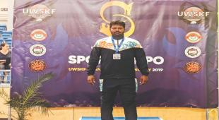 Sudhir Pundekar gets silver in World Wrestling Championships