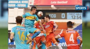 ISL 2021, FCG vs HFC, Goa , yderabad knocked out