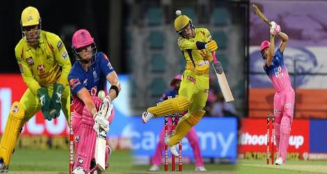 Chennai vs Rajasthan, MS Dhoni,Jos Buttler and Smith