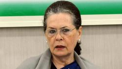 Sonia Gandhi completes a year as Congress party chief amid crisis