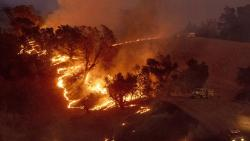 Mass blackout in California amid raging wildfires
