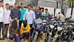 2 persons nabbed, 20 bikes recovered