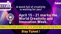 Celebrate World Creativity and Innovation Week with Sakal Times