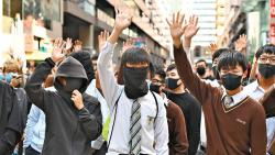 Hong Kongers think differently than China