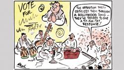Growing Bollywood jargon in India's politics reflects decadence