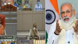 PM Narendra Modi reviews flood situation with CMs of six states