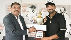 Sachin Gangal takes rolling trophy for winning 2nd leg of Oxford Golf Medal Rd