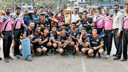 Income Tax Pune lifts trophy