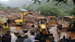 """Over 200 villages in Maharashtra have been identified as """"vulnerable to landslide hazard"""", according to a Geological Survey of India"""