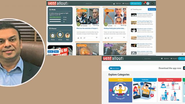 VentAllOut: A cohesive community of users, experts and facilitators