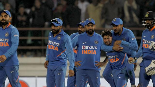 India beat Aus by 36 runs in 2nd ODI to level series 1-1