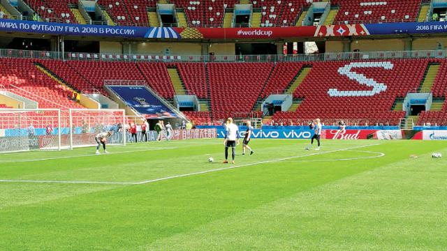 At Spartak, I was at home…