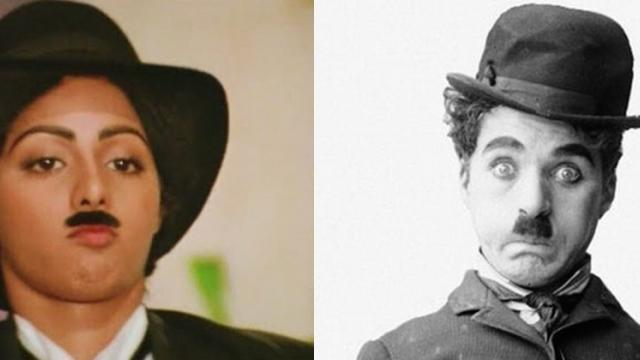 Video: When Sridevi slipped into the shoes of Charlie Chaplin
