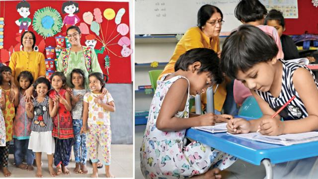 Swasya foundation is giving the underprivileged children an opportunity to learn and improve their life