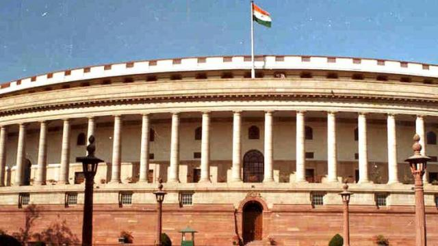 Eight Opposition members were suspended from the Rajya Sabha for one week for forming a ruckus on Sunday