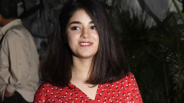 Zaira Wasim deletes Twitter, Instagram account after being trolled on religious grounds