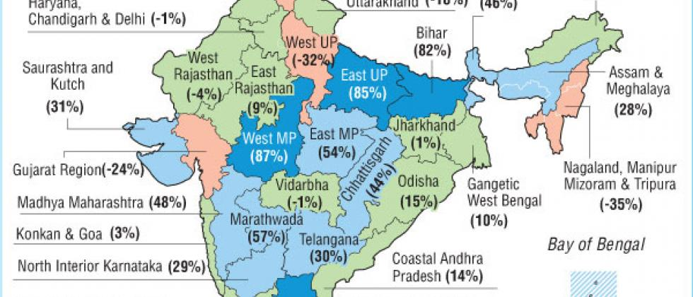 One Month of Monsoon (Rainfall Distribution during June 1 to 30, 2020)