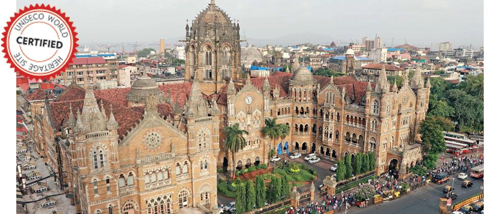 Formerly known as Victoria Terminus Station, CSTM is an outstanding example of Victorian Gothic Revival architecture in India, blended with themes deriving from Indian traditional architecture.The terminal was built over 10 years, starting in 1878 (Pic: P