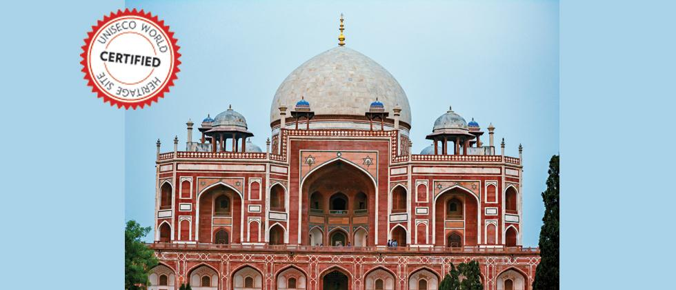 HUMAYUN'S TOMB, DELHI: Built in the 1560s with the patronage of Humayun's son, the great Emperor Akbar, this one is far grander than any tomb built before in the Islamic world . Persian and Indian craftsmen worked together to build parts of it (Pic: Payel