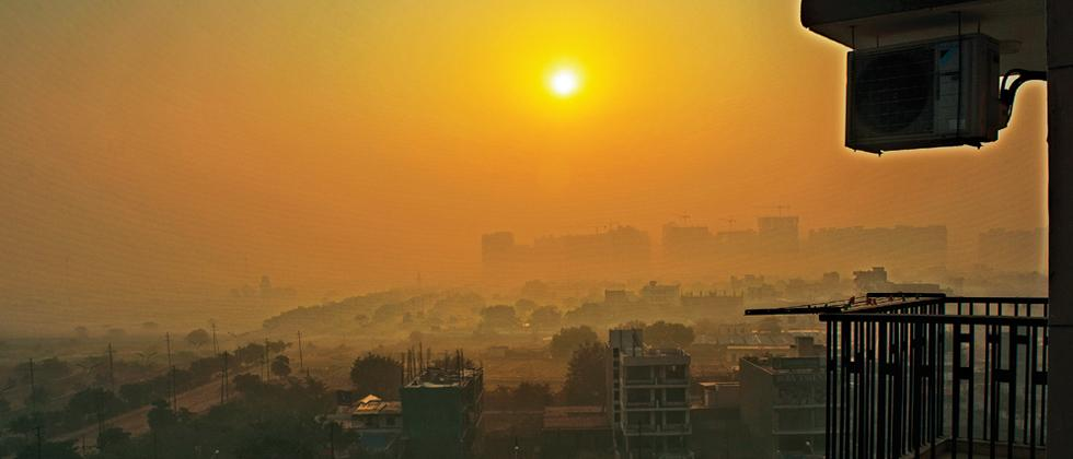 Delhi winters are harsh and the morning sun hardly brings any warmth (Pic: Payel Thakur)