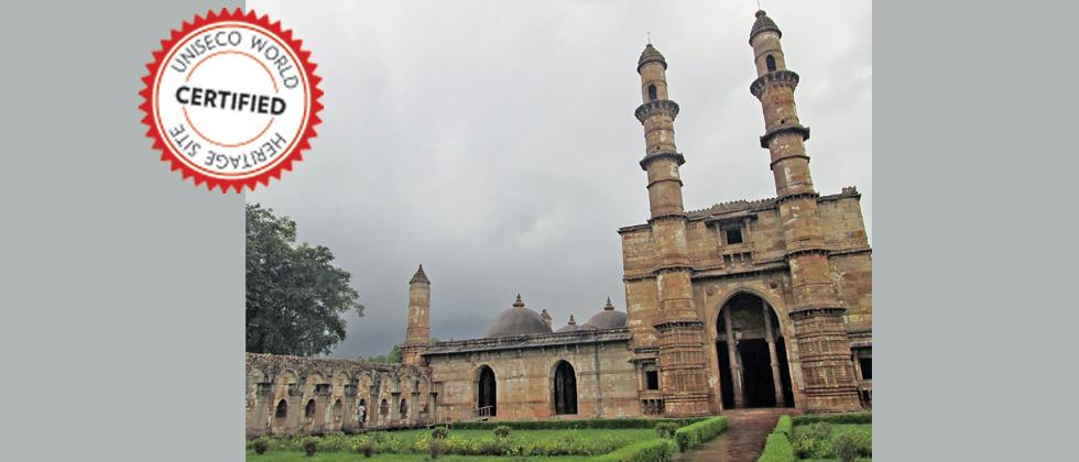 THE CHAMPANER-PAVAGADH ARCHAEOLOGICAL PARK: With its ancient Hindu architecture, temples and special water retaining installations together, dating back to the 16th century, the park represents cultures which have disappeared. The structures represent a p