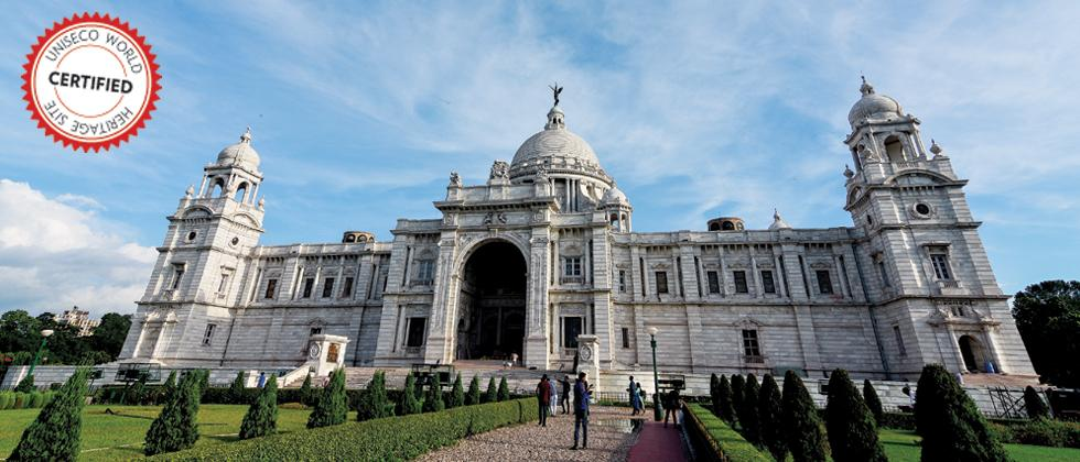 Victoria Memorial Hall was built between 1906–1921 in memory of Queen Victoria. In 1901, after her demise, the then Viceroy of India suggested that a fitting memorial in the Queen's memory be built (Pic: Debarchan Chatterjee)
