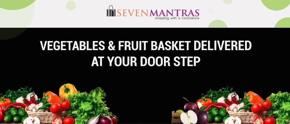 Society Committee members distribute 'Seven Mantras Fruit Basket' to families in home-isolation