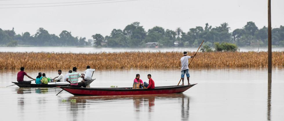 Assam floods: 11 lakh people affected, death toll rises to 61