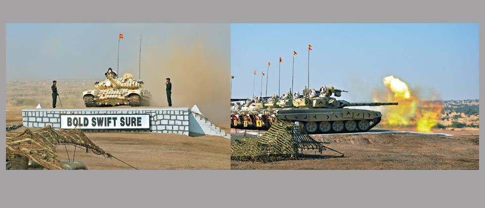 Army firepower exercise thrills all