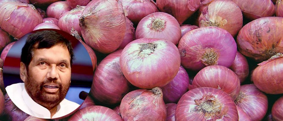 Onion price rise temporary phase, govt boosting supply: Paswan
