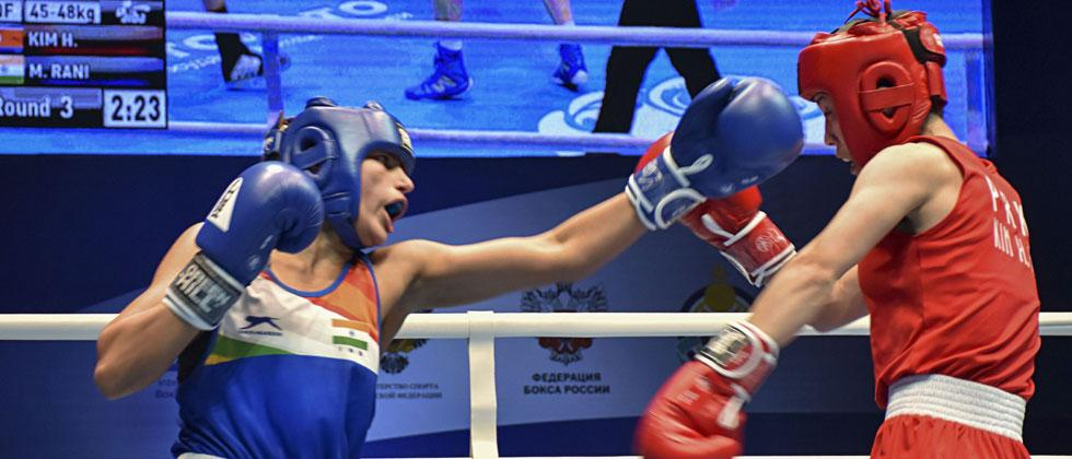 Manju Rani enters final; Mary Kom, 2 others sign off with bronze in World C'ships