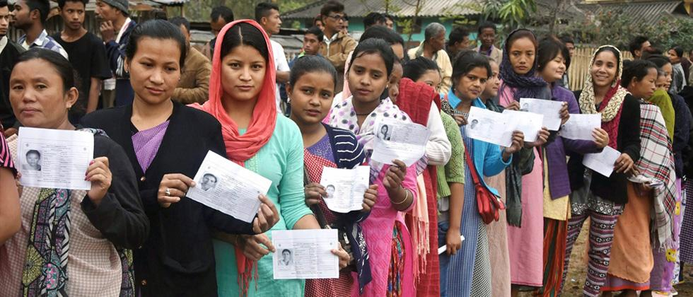 21.5 per cent polling in Meghalaya till noon