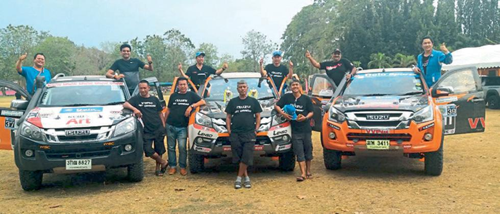 Takale finishes overall 3rd in Thailand
