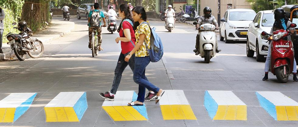 Soon, city to have 25 3D zebra crossings