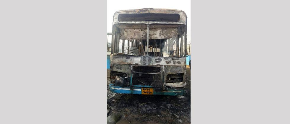 Another PMPML bus catches fire