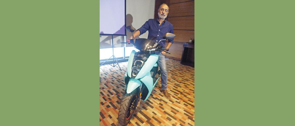 Ather Energy launches electric scooter