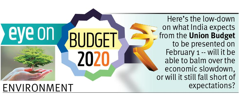Budgetary Provisions Must To Save Environment