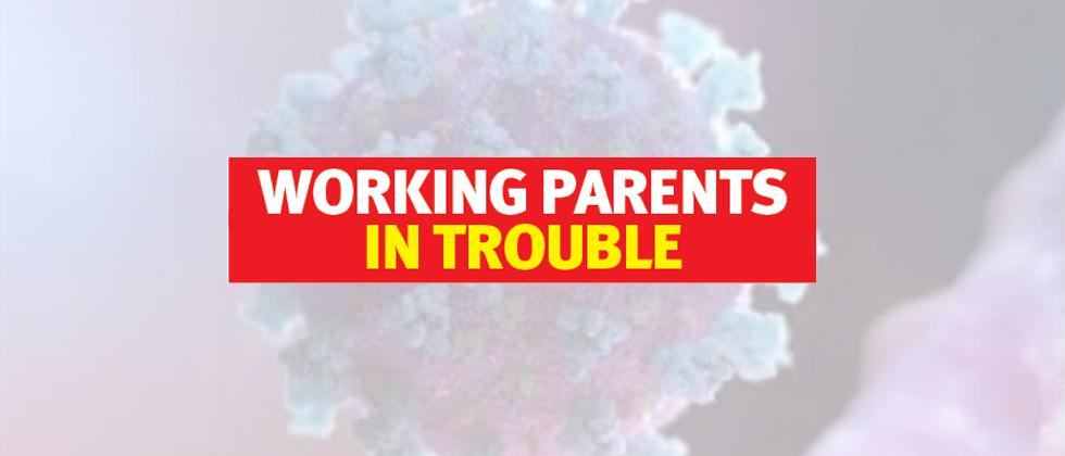 Closure of creches leaves working parents in a lurch
