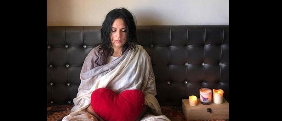 Richa Chadha takes up meditation