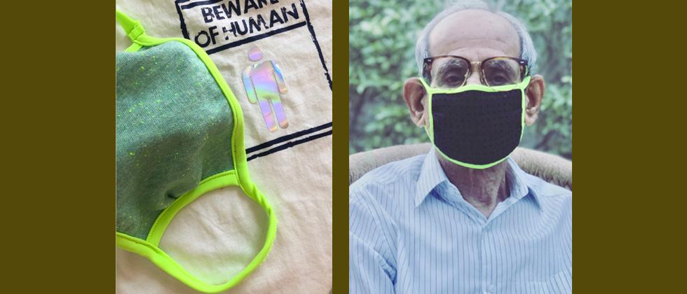 Coronavirus India: 23-year-old entrepreneur makes masks from scrapped fabric