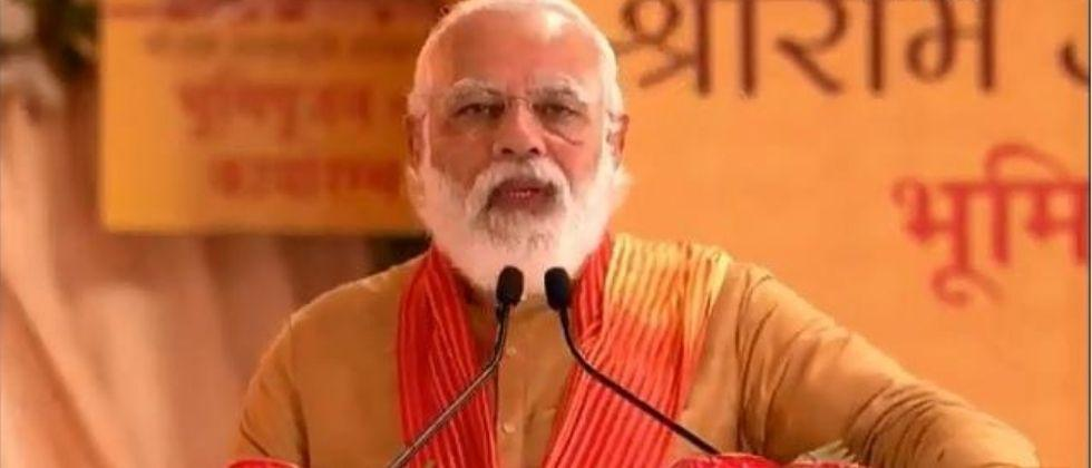 Ram Mandir will be a modern symbol of our culture, says Prime Minister Narendra Modi