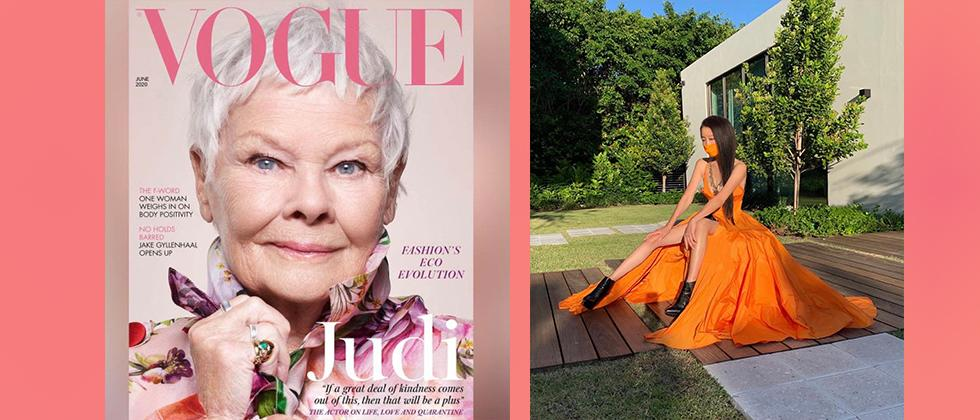 Safe to say old is gold as netizens are stunned by Vogue's cover girl Judi Dench and age-defying pictures of designer Vera Wang