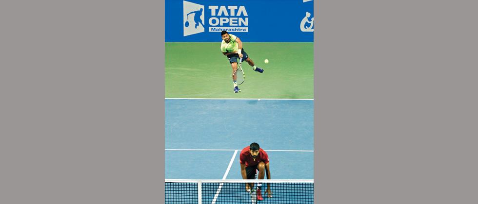 Bopanna ends Paes' campaign early